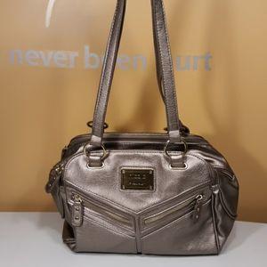 NICOLE MILLER Shoulder Bag Pueter Medium Size